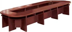 Mẫu bàn họp gỗ MDF - VBH4
